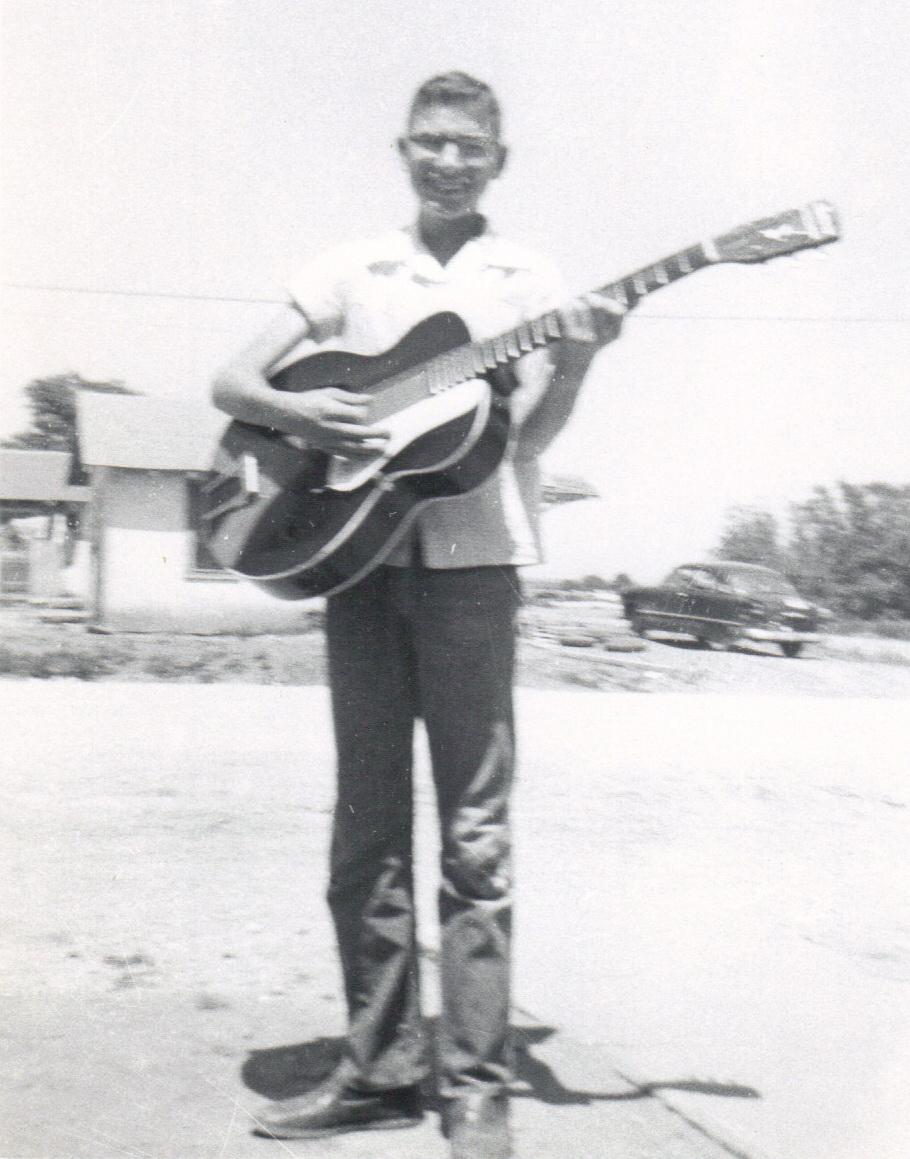 Larry in 1958